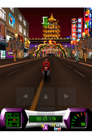 Screenshot 3D Speed City