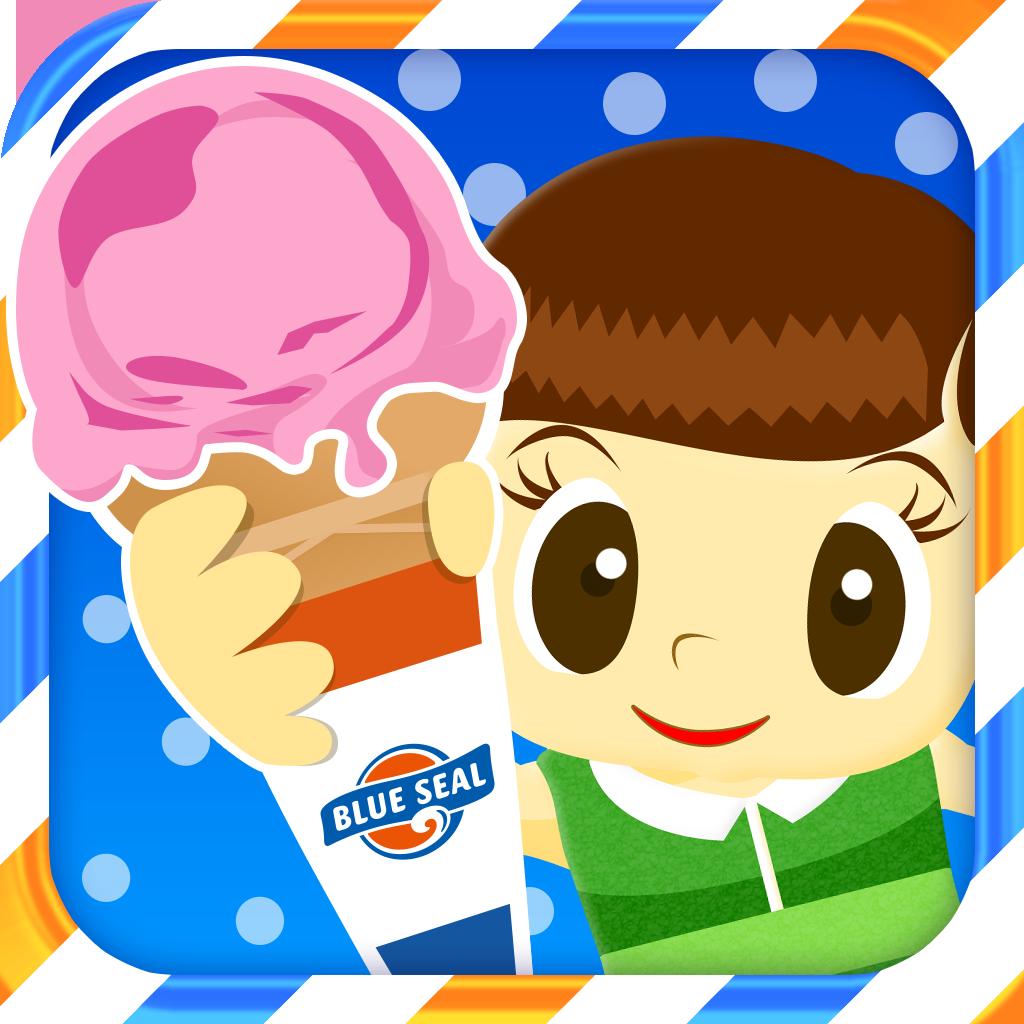 Tap Ice Cream ブルーシール