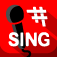 Free singing coach, songs, voice exercises, by Sing Sharp logo